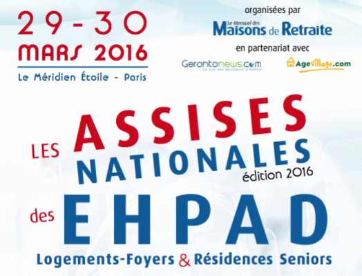 Salon ASSISES NATIONALES DES EHPAD